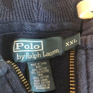 Navy Blue Men's. Ralph Lauren' Polo sweat suit 2xL